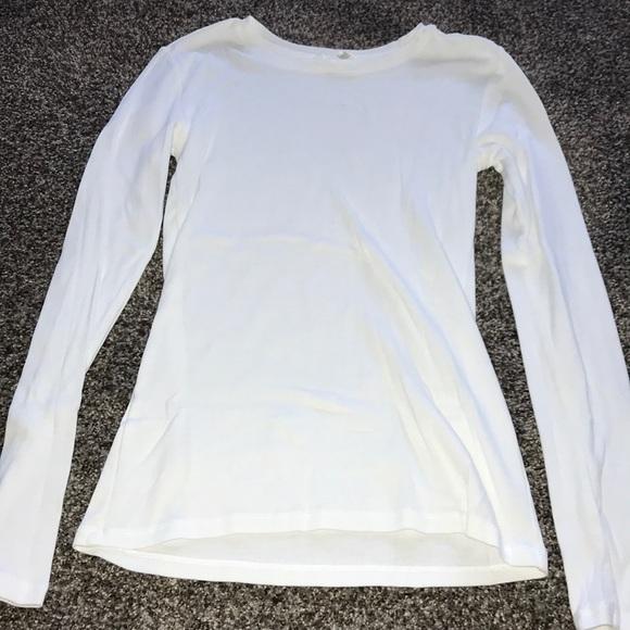 White long sleeve undershirt f84246747ab